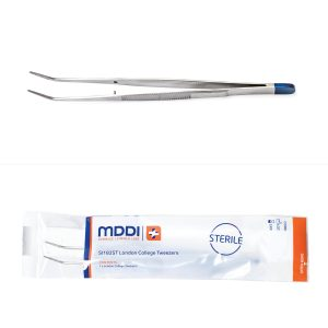 MDDI single use sterile dental college tweezers